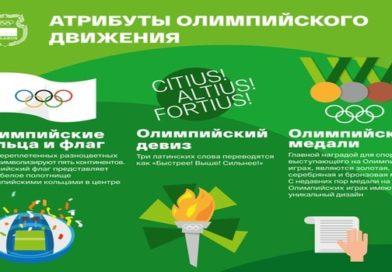 Информационная графика Национального олимпийского комитета