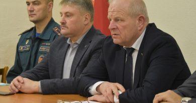 Представители районной власти выступили с отчетом о социально-экономическом состоянии района перед трудовым коллективом ОАО «ЖЭС»